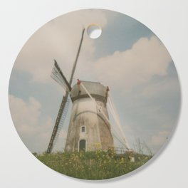 A mill in rural The Netherlands Cutting Board