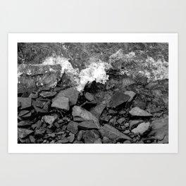 Black Water Art Print