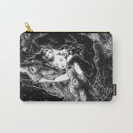 The Child Sleeps (B&W) Carry-All Pouch