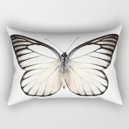 Prioneris philonome butterfly Rectangular Pillow