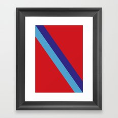 Team, colors, Nacional Framed Art Print