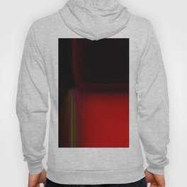 Modern Red Square Abstract Hoody