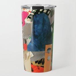 Sunset Mountain Paper Pile Travel Mug