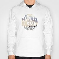 maps Hoodies featuring Maps(2) by Tina Crespo