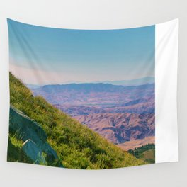Hills of Color Wall Tapestry