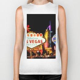 Living Las Vegas 2 Biker Tank