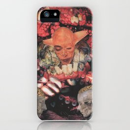 Let Idle Talk be Silenced iPhone Case