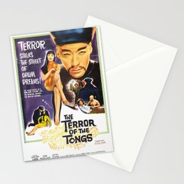 The Terror of the Tongs Stationery Cards