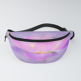 Lotus Emerging from the Water Fanny Pack