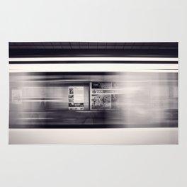 metro long exposure Rug
