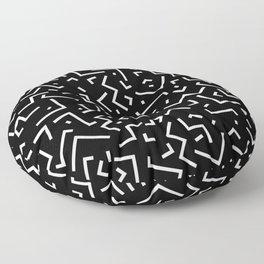 Memphis pattern 31 Floor Pillow