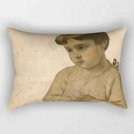 Uncertainty Rectangular Pillow