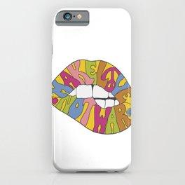 make love... iPhone Case