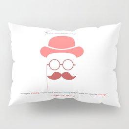 Hercule Poirot Pillow Sham
