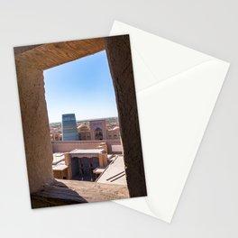 Unfinished Kalta Minor Minaret at Ichan Qala - Khiva, Uzbekistan Stationery Cards