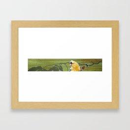 Time will tell Framed Art Print