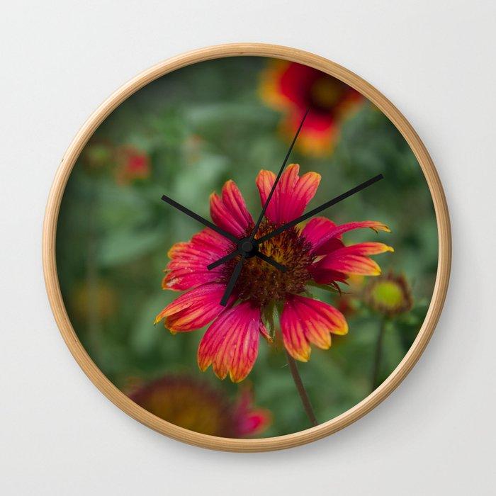 Colors of Summer Wall Clock
