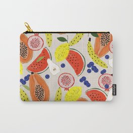 Acrylic Fruits  Carry-All Pouch