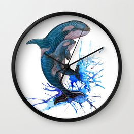 Mother and Calf  Wall Clock