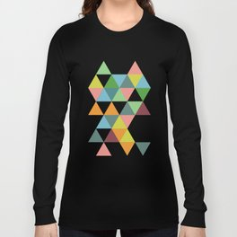 Abstract #579 Long Sleeve T-shirt