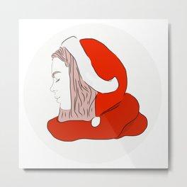 Eva christmas Metal Print