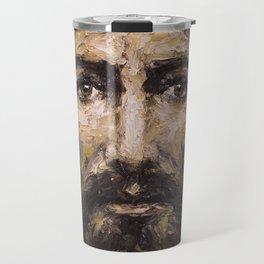 The Man (Jesus) of the Holy Shroud Travel Mug