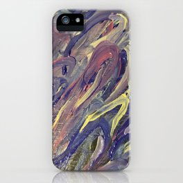 Star Pixel Puffs iPhone Case