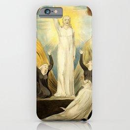 """William Blake """"The Raising of Lazarus"""" iPhone Case"""