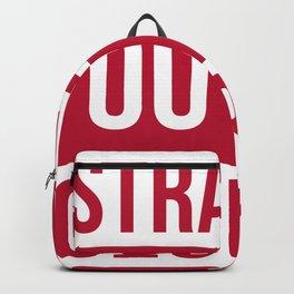 Straight Outta Georgia Print Backpack