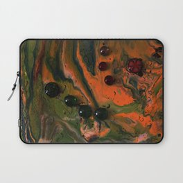 Orange Plasma Laptop Sleeve