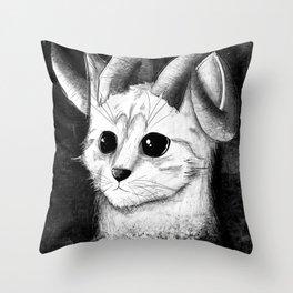MAH KITTEH! Throw Pillow
