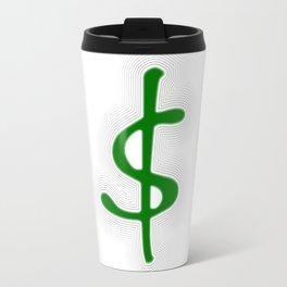 Shrinking Dollar Travel Mug