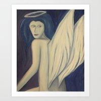 angel wings Art Prints featuring Angel Wings by Griffin Lauerman