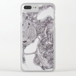 Mind Power Clear iPhone Case