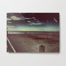 Empty Nets and Sandy Beaches Metal Print