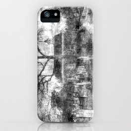 Old Dutch Church Of Sleepy Hollow Vintage iPhone Case