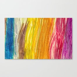 Lovely Colores Lightroom Wax Colors Canvas Print
