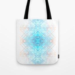Techno-Lattice: Summer Skies Tote Bag