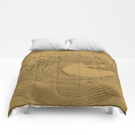 Vintage Golden Wave Comforters