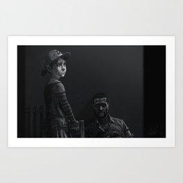 GRAND FINALE Art Print