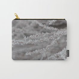 Frosty Branches Carry-All Pouch