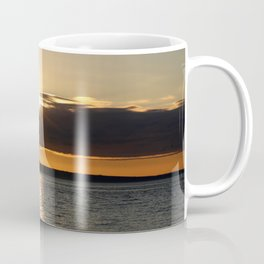 Sunset over the Olympics Coffee Mug
