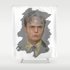 Dwight Schrute, The Office Shower Curtain