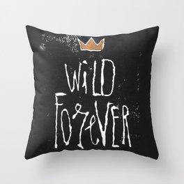 Wild Forever Throw Pillow
