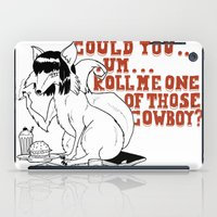 pulp fiction iPad Cases featuring Fox by LullaBy D