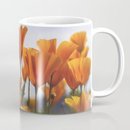 Golden Poppies In The Breeze Coffee Mug