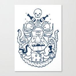 Captain Badass Canvas Print