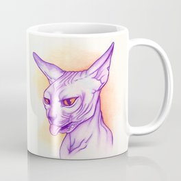 Sphynx cat #02 Coffee Mug