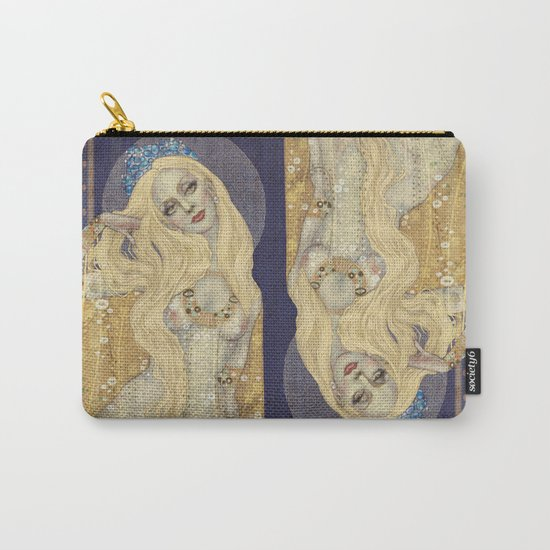 Golden Gown Carry-All Pouch