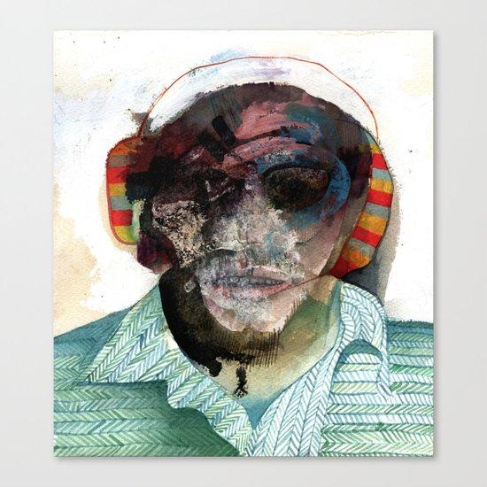 Small Self Portrait Canvas Print